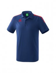 ERIMA Kinder / Herren Essential 5-C Poloshirt ESSENTIAL 5-C new navy/rot