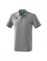ERIMA Kinder / Herren Essential 5-C Poloshirt ESSENTIAL 5-C grau melange/schwarz (1,5% Zusatzrabatt bei Vorkasse)