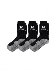 ERIMA 3-Pack Sportsocken schwarz
