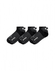 ERIMA 3-Pack Kurzsocken schwarz