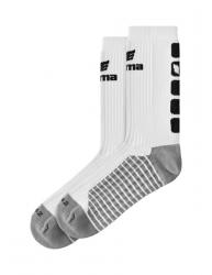 ERIMA CLASSIC 5-C Socken weiß/schwarz