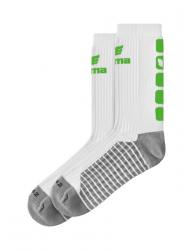 ERIMA CLASSIC 5-C Socken weiß/green