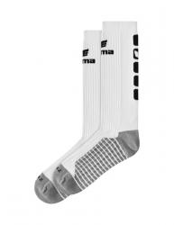 ERIMA CLASSIC 5-C Socken lang weiß/schwarz