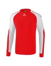 ERIMA Kinder / Herren Essential 5-C Sweatshirt ESSENTIAL 5-C rot/weiß