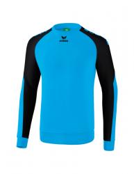 ERIMA Kinder / Herren Essential 5-C Sweatshirt ESSENTIAL 5-C curacao/schwarz