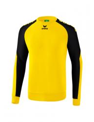 ERIMA Kinder / Herren Essential 5-C Sweatshirt ESSENTIAL 5-C gelb/schwarz