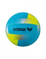 ERIMA Herren King of the Beach Volleybälle aqua/gelb