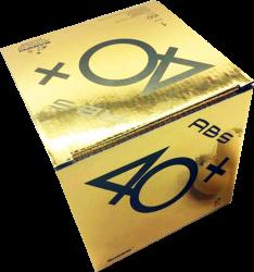 Sanwei 40+ ABS 1-Stern (100er Packung) (2% Zusatzrabatt bei Vorkasse ab 200,00 ¤ Bestellwert)