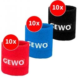 GEWO Set 3x 10 pro Farbe Schweißband