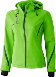 ERIMA Frauen Softshell Jacke Function apfelgrün/pinie (Restposten)