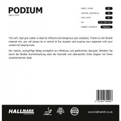 Hallmark Belag Podium