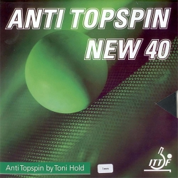 Toni Hold Belag Anti Topspin 40