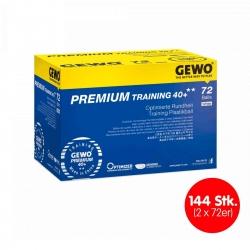 GEWO Ball Premium Training 40+** (2 * 72 Bälle)