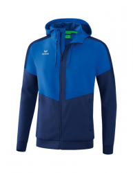 ERIMA Squad Tracktop Jacke mit Kapuze new royal/new navy