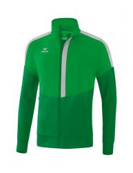 ERIMA Kinder / Herren Squad Worker Jacke SQUAD fern green/smaragd/silver grey