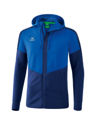 ERIMA Squad Trainingsjacke mit Kapuze new royal/new navy