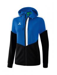 ERIMA Frauen Squad Trainingsjacke mit Kapuze SQUAD (2% Zusatzrabatt bei Vorkasse ab 200,00 ¤ Bestellwert)