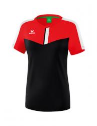 ERIMA Frauen Squad T-Shirt SQUAD rot/schwarz/weiß