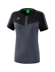 ERIMA Frauen Squad T-Shirt SQUAD schwarz/slate grey