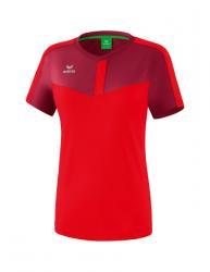 ERIMA Frauen Squad T-Shirt SQUAD bordeaux/rot