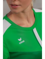 ERIMA Frauen Squad T-Shirt SQUAD fern green/smaragd/silver grey