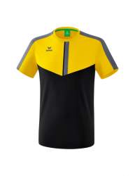 ERIMA Kinder / Herren Squad T-Shirt SQUAD gelb/schwarz/slate grey