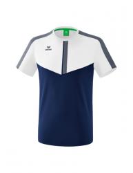 ERIMA Kinder / Herren Squad T-Shirt SQUAD weiß/new navy/slate grey