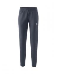 ERIMA Frauen Squad Worker Hose SQUAD slate grey/silver grey (2% Zusatzrabatt bei Vorkasse ab 200,00 ¤ Bestellwert)