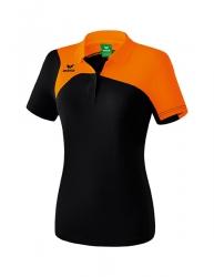 ERIMA Frauen Club 1900 2.0 Polo MASTERS schwarz/orange