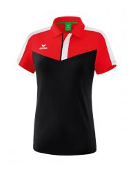 ERIMA Frauen Squad Poloshirt SQUAD rot/schwarz/weiß