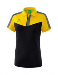 ERIMA Frauen Squad Poloshirt SQUAD gelb/schwarz/slate grey