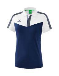 ERIMA Frauen Squad Poloshirt SQUAD weiß/new navy/slate grey