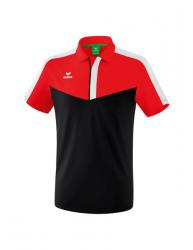 ERIMA Herren Squad Poloshirt SQUAD rot/schwarz/weiß