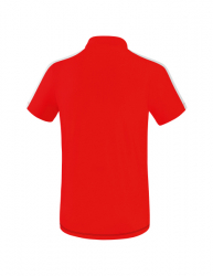 ERIMA Squad Poloshirt rot/schwarz/weiß