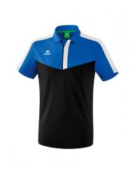 ERIMA Squad Poloshirt new royal/schwarz/weiß