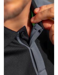 ERIMA Squad Poloshirt schwarz/slate grey