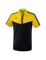 ERIMA Herren Squad Poloshirt SQUAD gelb/schwarz/slate grey