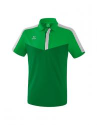ERIMA Squad Poloshirt fern green/smaragd/silver grey