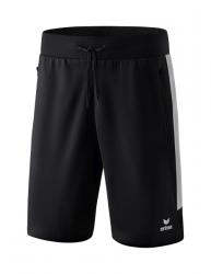 ERIMA Squad Worker Shorts schwarz/silver grey