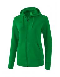 ERIMA Frauen Kapuzensweatjacke smaragd