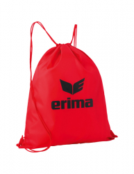 ERIMA Turnbeutel rot/schwarz (2% Zusatzrabatt bei Vorkasse ab 200,00 ¤ Bestellwert)