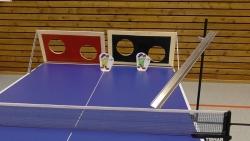 Tischtennis Torwand DUO