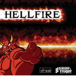 S + T Belag Hellfire (langnoppe)