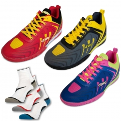 GEWO Set Schuh Speed Flex One + 3er Set Socke Step Flex
