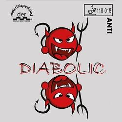 Der Materialspezialist Belag Diabolic inkl. Klebefolie (Sonderposten)