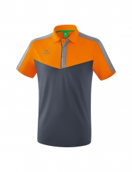 ERIMA Herren Squad Poloshirt SQUAD new orange/slate grey/monument grey (Sonderposten)