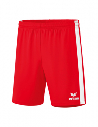 ERIMA Retro Star Shorts rot/weiß