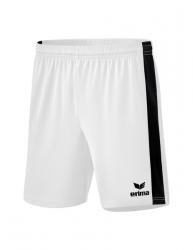 ERIMA Retro Star Shorts weiß/schwarz