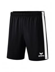 ERIMA Retro Star Shorts schwarz/weiß