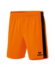 ERIMA Retro Star Shorts new orange/schwarz